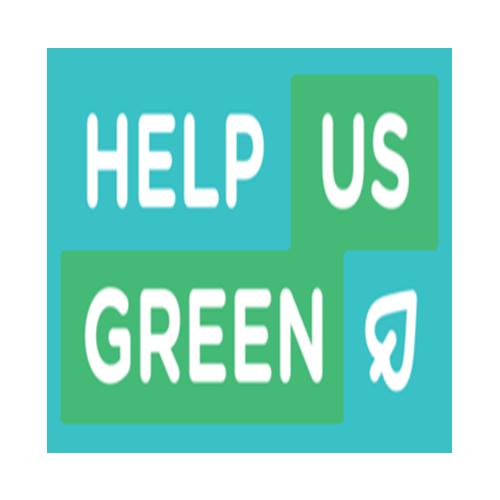 help us green logo